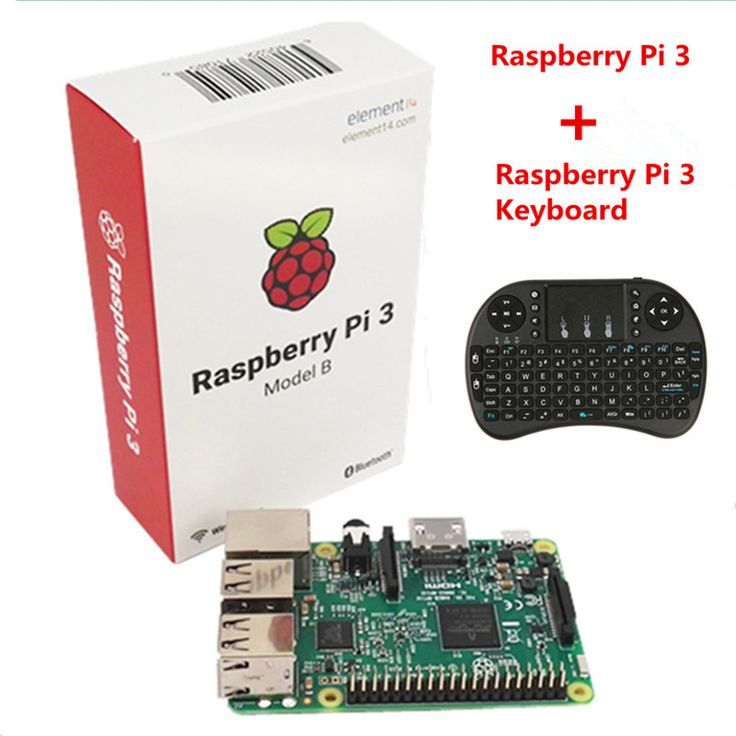 Raspberry Pi 3 Model B With Wifi & Bluetooth +i8 Mini 2.4G Wireless Mini Keyboard For Orange Pi PC Android TV Raspberry Pi 3