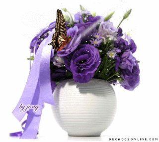 COSAS PARA COMPARTIR : gif de flores animadas