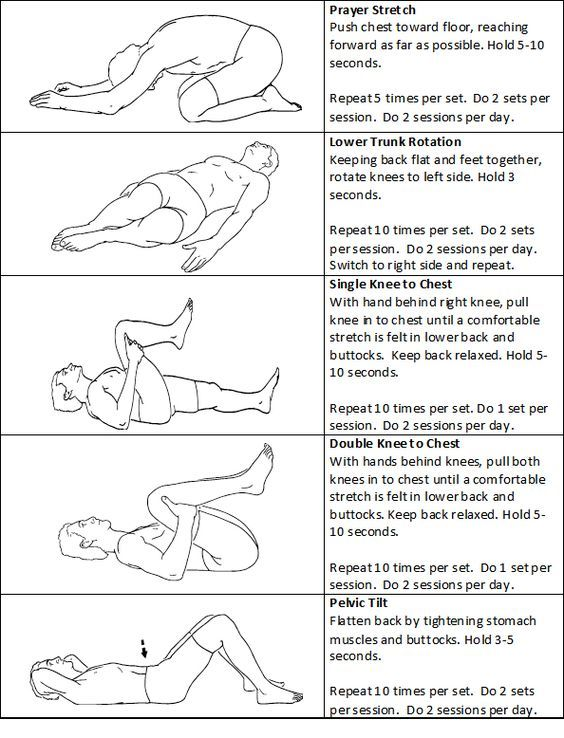 Stretches To Eliminate Back Pain