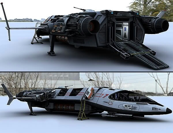 sci fi space shuttle craft - photo #15