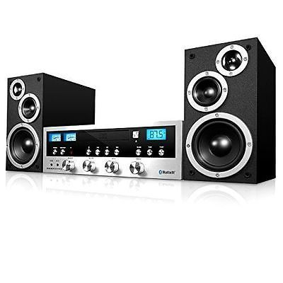 Compact and Shelf Stereos: Wireless Sound System Bluetooth Aux-In Digital Music Stereo Speaker Home Theater -> BUY IT NOW ONLY: $111.03 on eBay!
