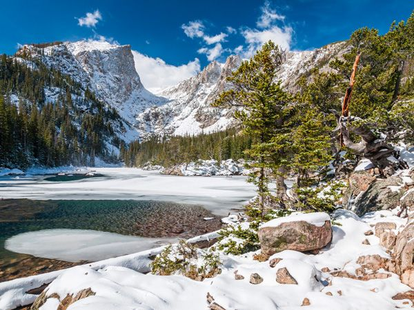 Beark Lake at Rocky Mountain National Park - National Geographic http://travel.nationalgeographic.com/travel/national-parks/rocky-mountain-national-park/ #NationalParks