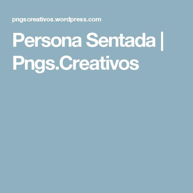 Persona Sentada | Pngs.Creativos