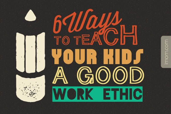 Why do I want my kids to be hard workers and have a good work ethic? Kids who are hard workers stand out. Here are 6 ways to teach your kids a good work ethic. #backtoschool #workethic #parenting
