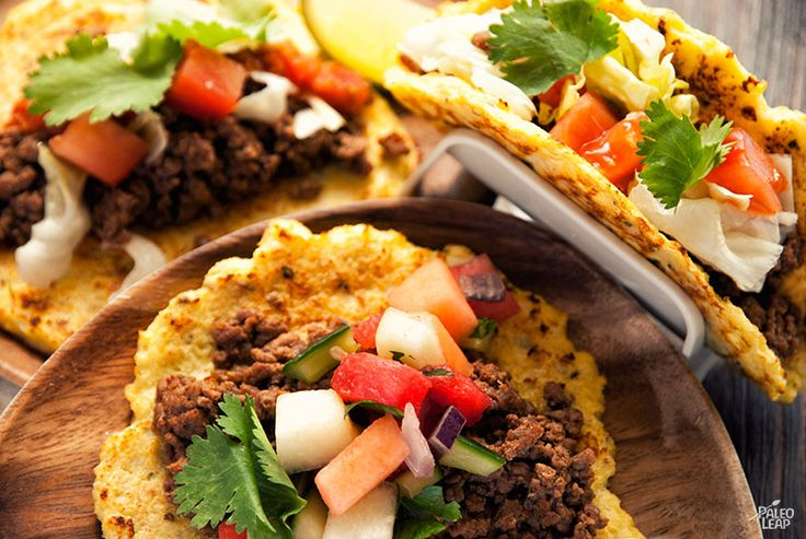 GROUND BEEF TACO ....     2 lbs. ground beef;     1 tomato, diced;     1 green bell pepper, diced;     1 onion, diced;     1 cup shredded lettuce;     Homemade salsa;     Melon salsa; (optional)     Your choice of other toppings; (optional)     Fresh cilantro, for garnishing;  Ingredients for the taco seasoning      1 tbsp. chili powder;     1 tsp. ground cumin;     ½ tsp. paprika;     ½ tsp. dried oregano;     ½ tsp. garlic powder;     Sea salt and freshly ground black pepper;