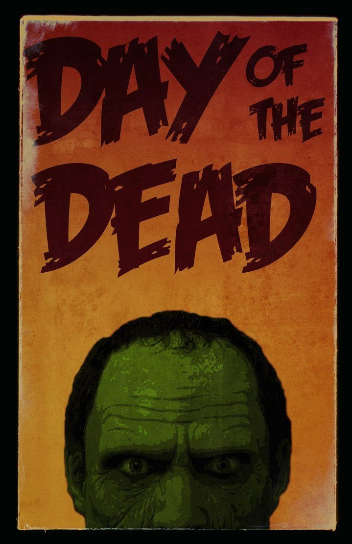 Day of the dead (1985) Zombie movies, Horror movies
