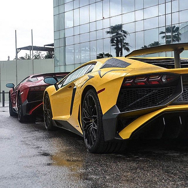 Pair of Aventador SV's • Follow @TimothySykes for daily Millionaire Lifestyle inspiration!  Photo by #K&SPhotograhers