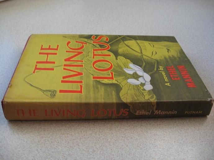 RETRO Mid Century Novel The Living Lotus by Ethel Mannin 1956  by ShopWithLynne, $6.00 USD