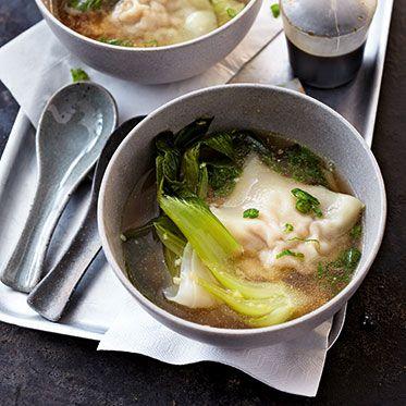 Chinesische Wan-Tan-Suppe Rezept | Küchengötter
