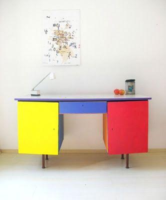 Mondrian na decoração e arquitetura