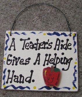 Teacher Gift  A Teacher Aide Gives a Helping by NannieandBCrafts, $1.75