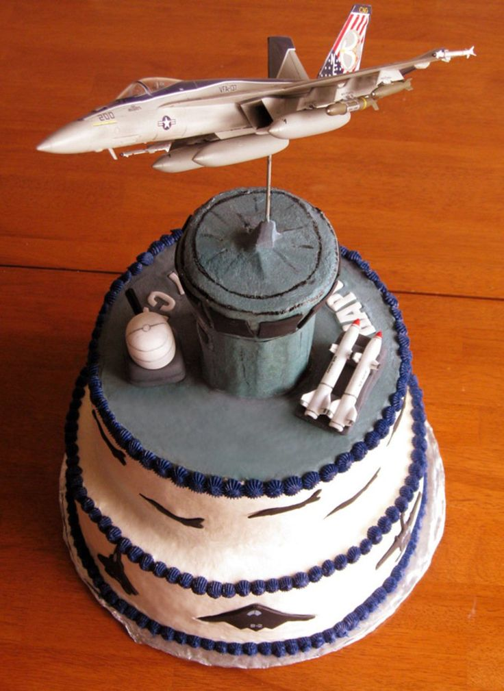 17 best ideas about navy cakes on pinterest silver cake for Air force cakes decoration