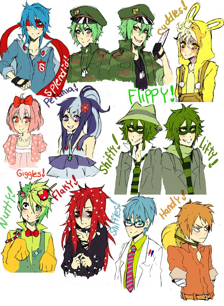 happy tree friends anime | Happy Tree Friends [Anime Version] - Taringa!