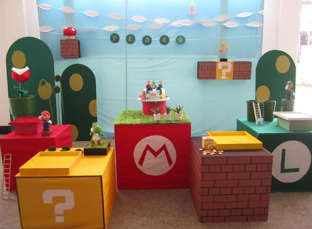 TUDO PRA SUA FESTA: Ideias para festa infantil com o tema Mario Bros