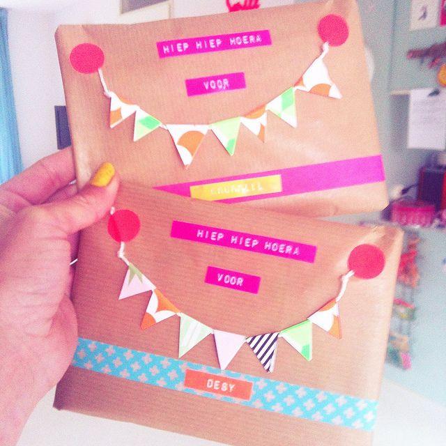 Inspiration: gift wrap by Bien maakt.