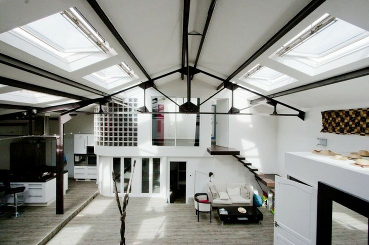25 best maison ossature metallique ideas on pinterest - Maison hangar metallique ...