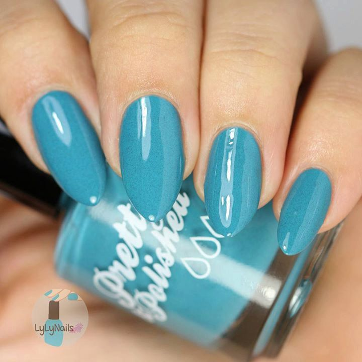 Docked in Biscay Bay Creme Nail Polish by PrettyandPolished on Etsy