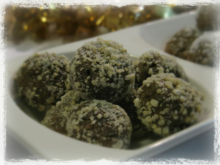 Carob Truffles. Suitable for the Failsafe Diet.