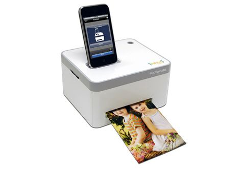 iPhone printing cube