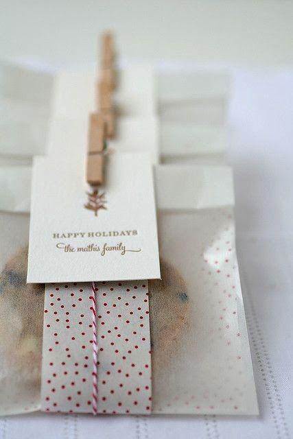 Loving this cookie packaging. [kreyv]:[in five]: Favorite Lil' Gifts