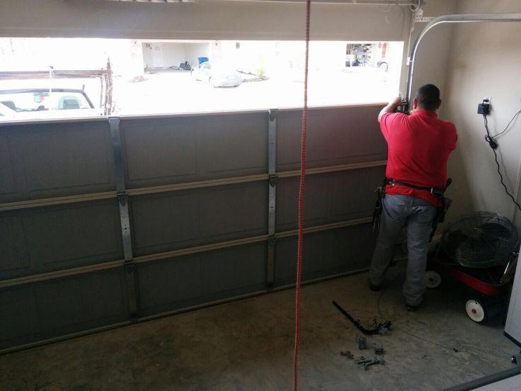 25 best ideas about garage door spring repair on for Cost to repair garage door cable