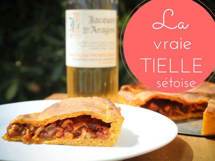 Recette pas à pas de la vraie tielle sétoise (garniture et pâte levée à l'huile d'olive) | Step by step recipe of this classic dish from Sète in the Languedoc.