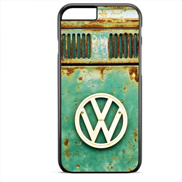 Old VW Logo Apple Phonecase For Iphone 4/4S Iphone 5/5S Iphone 5C Iphone 6 Iphone 6S Iphone 6 Plus Iphone 6S Plus.Image is printed on aluminum inlay attached to