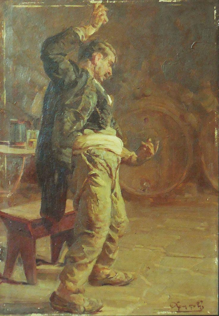 Dancing drunkard