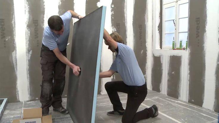 wedi | EN - Training: Building a complete bathroom using the wedi system