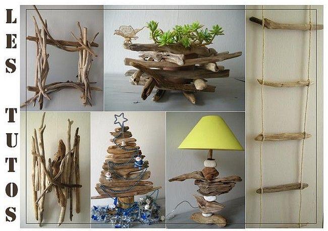 55 best d co en bois flott images on pinterest driftwood drift wood and driftwood art. Black Bedroom Furniture Sets. Home Design Ideas