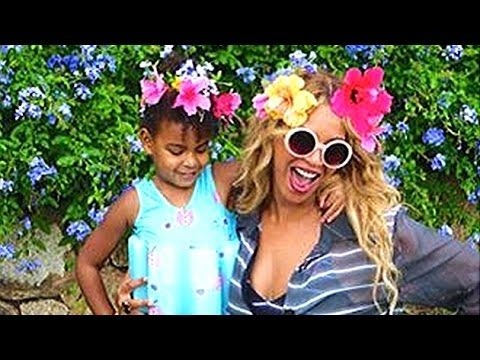 Beyonce & Blue Ivy's Funny Dance Video - YouTube