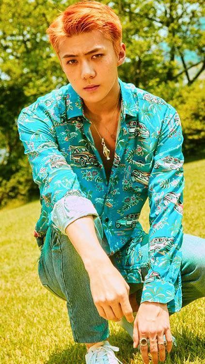 I love his shirt ❤️❤️
