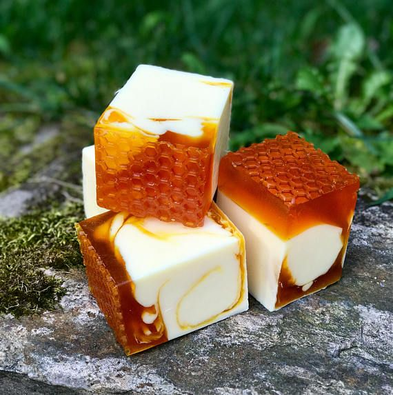 Honey Almond Handmade Triple Butter Vegan Soap with Multani