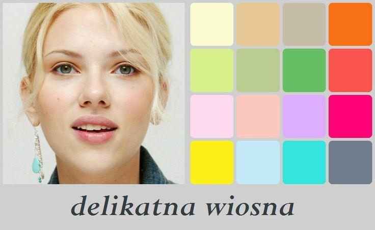 Scarlett Johansson - delikatna wiosna
