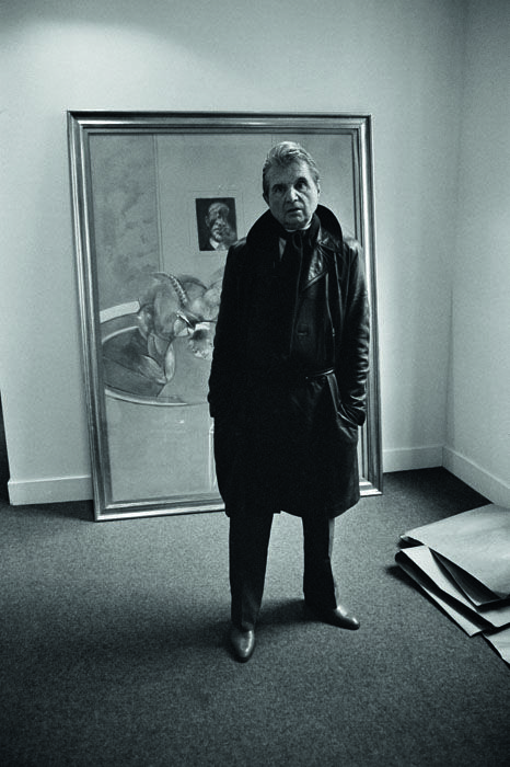 Francis Bacon   by Derek Hudson, Rue de Seine, Paris, c.1976