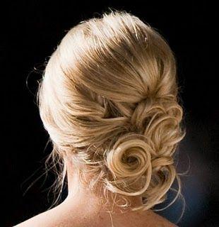 Updo(;: Hair Ideas, Wedding Hair, Bridesmaid Hair, Prom Hair, Pin Curls, Hair Style, Side Buns, Updo, Bobby Pin