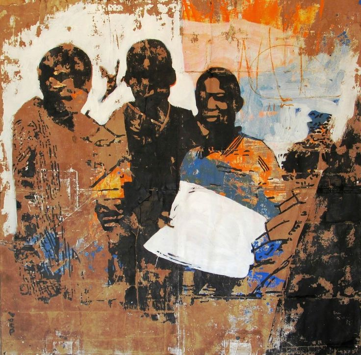 Armand Boua, Le journal blanc, 2015