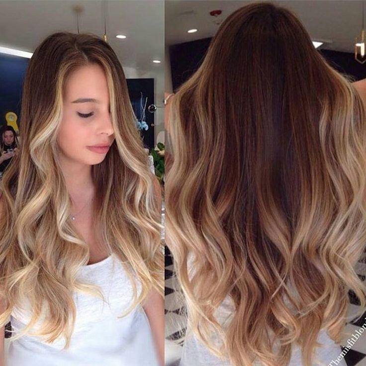 Penteados Balayage Hair Contouring Dark Blonde Hair Color Hair