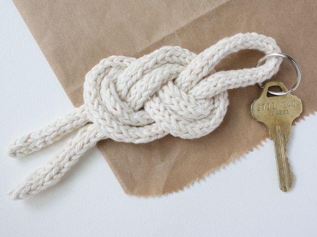 matroos knoop sleutelhanger diy // Michael Ann Made
