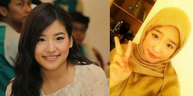 Foto Cantik Haruka JKT48 Berhijab   Wow Kece