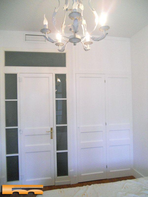 Armario esquinero vestidor a medida barcelona eva armario a medida interior esquinero con - Medidas de puertas de interior ...