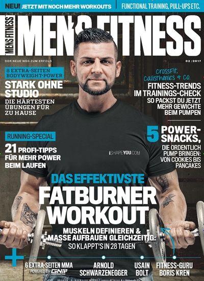 Das effektivste #Fatburner-#Workout  #Muskeln definieren & Masse aufbauen - in 28 Tagen  Jetzt in Mens Fitness.
