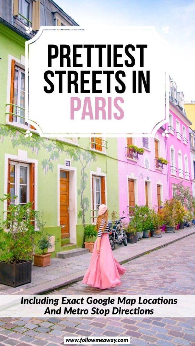 Karte Paris.10 Der Charmantesten Straßen In Paris Karte Um Sie Zu Finden