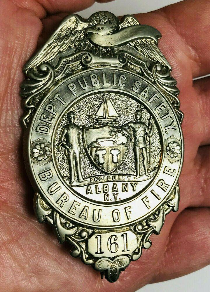 Albany NY Dept Public Safety Bureau Of Fire 161 Obsolete C