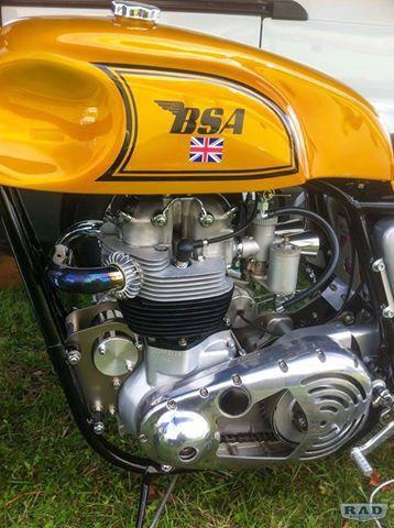 Bsa Lightning  Caf Ef Bf Bd Racer