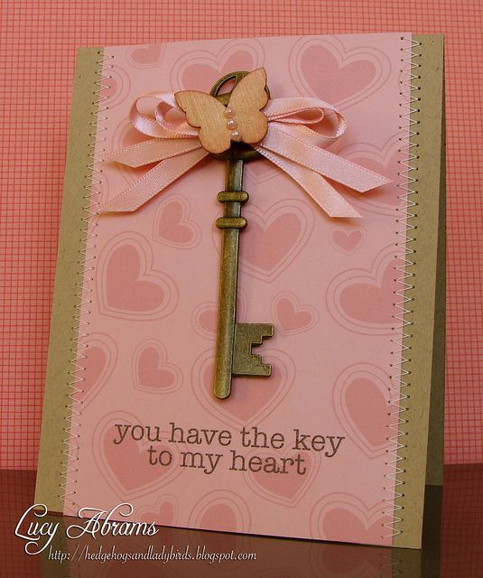 41 best Cards - Keys images on Pinterest | Antique keys, Keys and ...