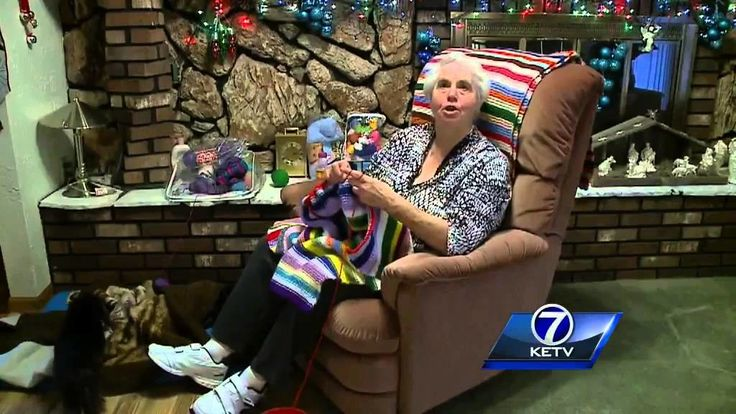 For decades, a woman in southwest Omaha has helped hundreds of people stay warm through the winter with her handmade donations. Subscribe to KETV on YouTube now for more:   ...     Get more Omaha news:  ...    Like us:http://face. Knit, Knitting,