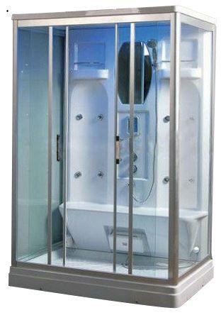 sp27 a twin rectangular steam shower cabin 1400mm x 900mm x 2190mm