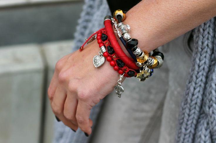 Bransoletki wykonane ręcznie, pojedyncze egzemplarze. Sprawdź na www.gleam.pl <3