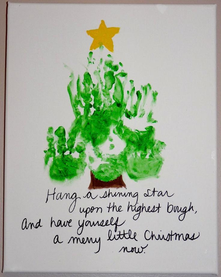 christmas tree handprint - photo #8